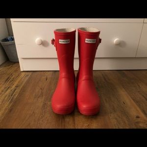Mid calf Hunter boots